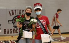 Katie Quirke and Joaquin Barba were chosen as Homecomig queen and king