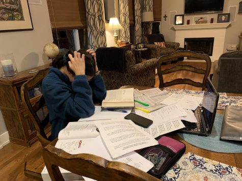 Trying to do homework can be a constant battle, Guerra said.