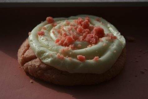 Pink Velvet cookie