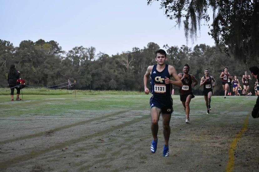Charlie Smith competes with his new team for Georgia Tech.
